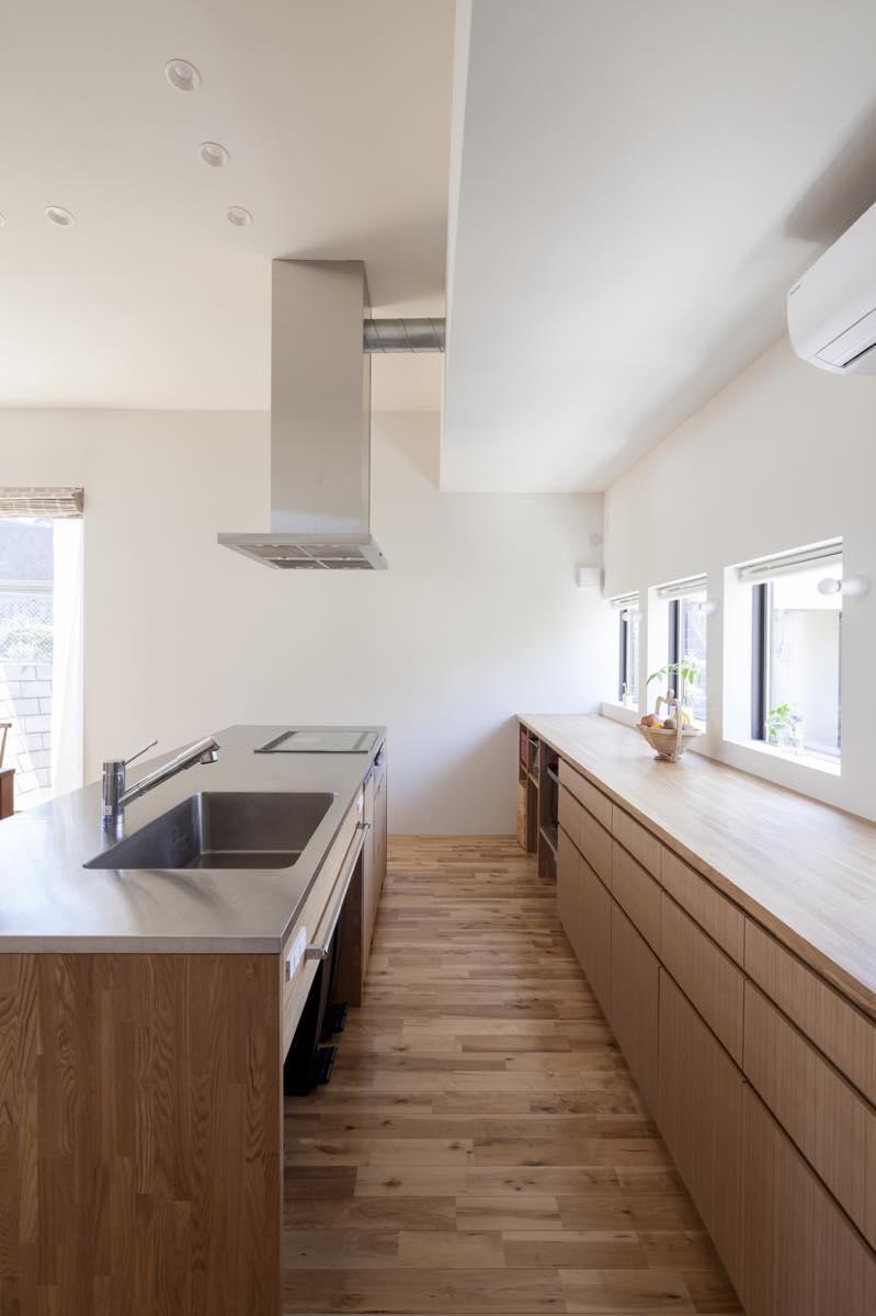 キッチン事例:内観27(藤が丘の家・T邸)