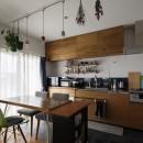 A邸-戸建てからマンションへ。サイズダウンしても狭さを感じない部屋の写真 ダイニングキッチン