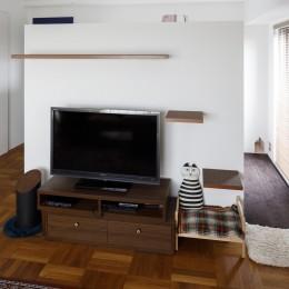 A邸-戸建てからマンションへ。サイズダウンしても狭さを感じない部屋