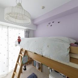 A邸-戸建てからマンションへ。サイズダウンしても狭さを感じない部屋 (子供部屋)