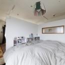 A邸-戸建てからマンションへ。サイズダウンしても狭さを感じない部屋の写真 ベッドルーム