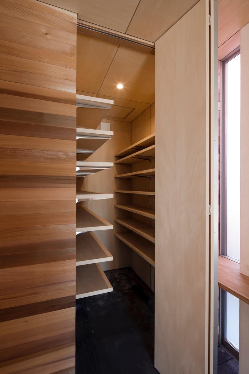 収納事例:内観4(狛江の家・S邸)