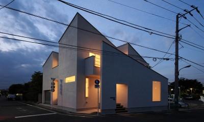 小竹町の家 (外観)