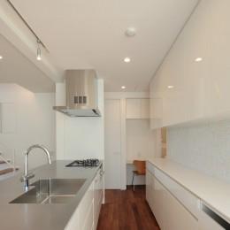 小竹町の家 (キッチン)