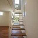 小竹町の家の写真 階段
