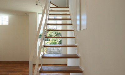 小竹町の家 (階段)
