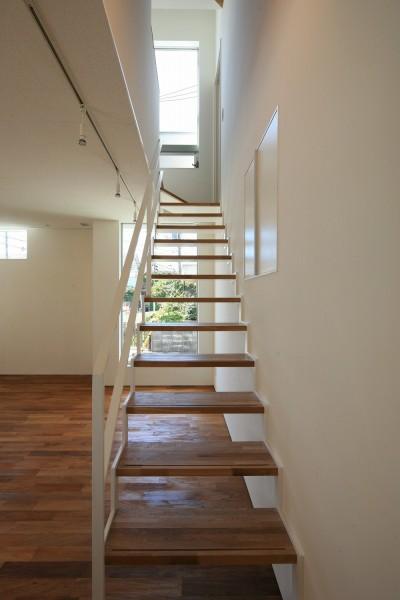 階段 (小竹町の家)