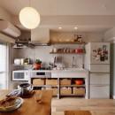光と風 流れる家の写真 キッチン