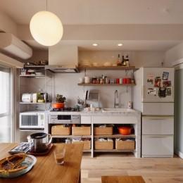 光と風 流れる家 (キッチン)