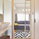 光と風 流れる家の写真 寝室