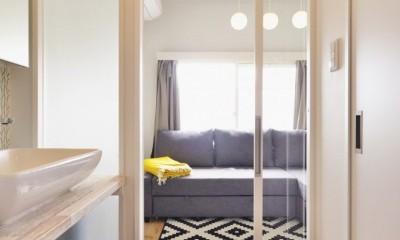 光と風 流れる家 (寝室)