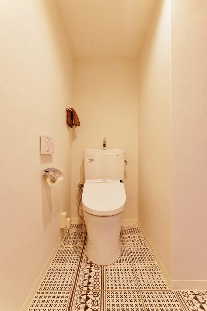 光と風 流れる家 (トイレ)