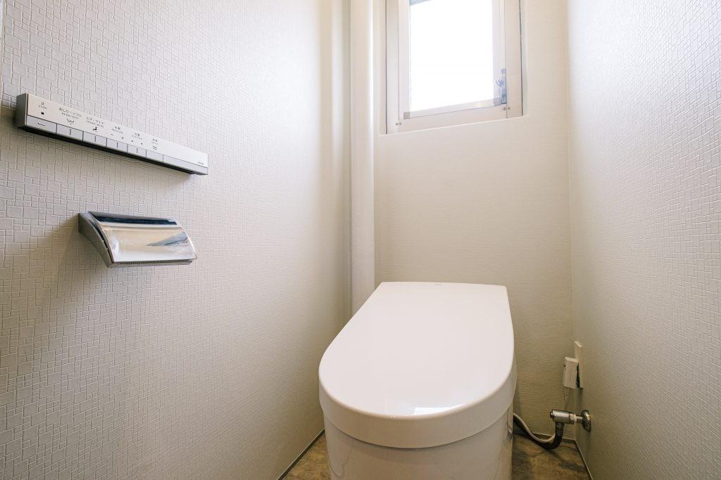 バス/トイレ事例:トイレ(くつろぎの和モダンスタイル)