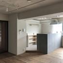 お気に入りを素敵に飾る空間の写真 LDK