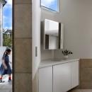 【帰ったらまず、手洗い、うがい】ドクターの家づくり計画に学ぶの写真 玄関周り02