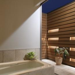 【帰ったらまず、手洗い、うがい】ドクターの家づくり計画に学ぶ (オープンエアなバスルーム)