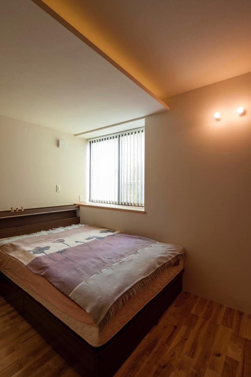 ベッドルーム事例:内観5(白金の家)
