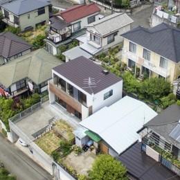八王子の家 (外観3)