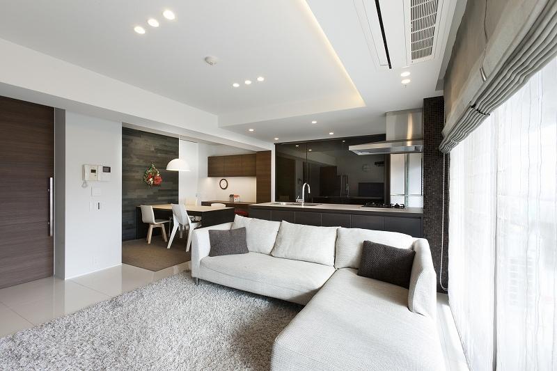 リノベーション・リフォーム会社:リノベーションカーサ「ホテルライクなモダン空間(リノベーション)」