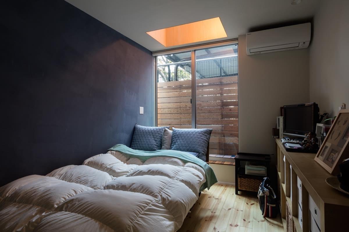 ベッドルーム事例:内観4(根岸の家)