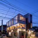 中村自邸+2つのアトリエの写真 外観10