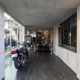 中村自邸+2つのアトリエ (内観1)