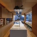 中村自邸+2つのアトリエの写真 内観12