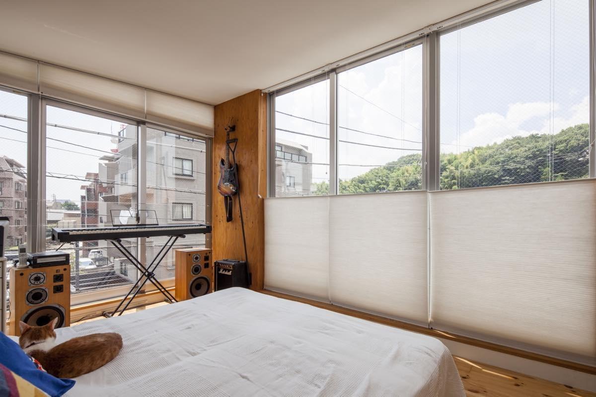 ベッドルーム事例:内観27(中村自邸+2つのアトリエ)