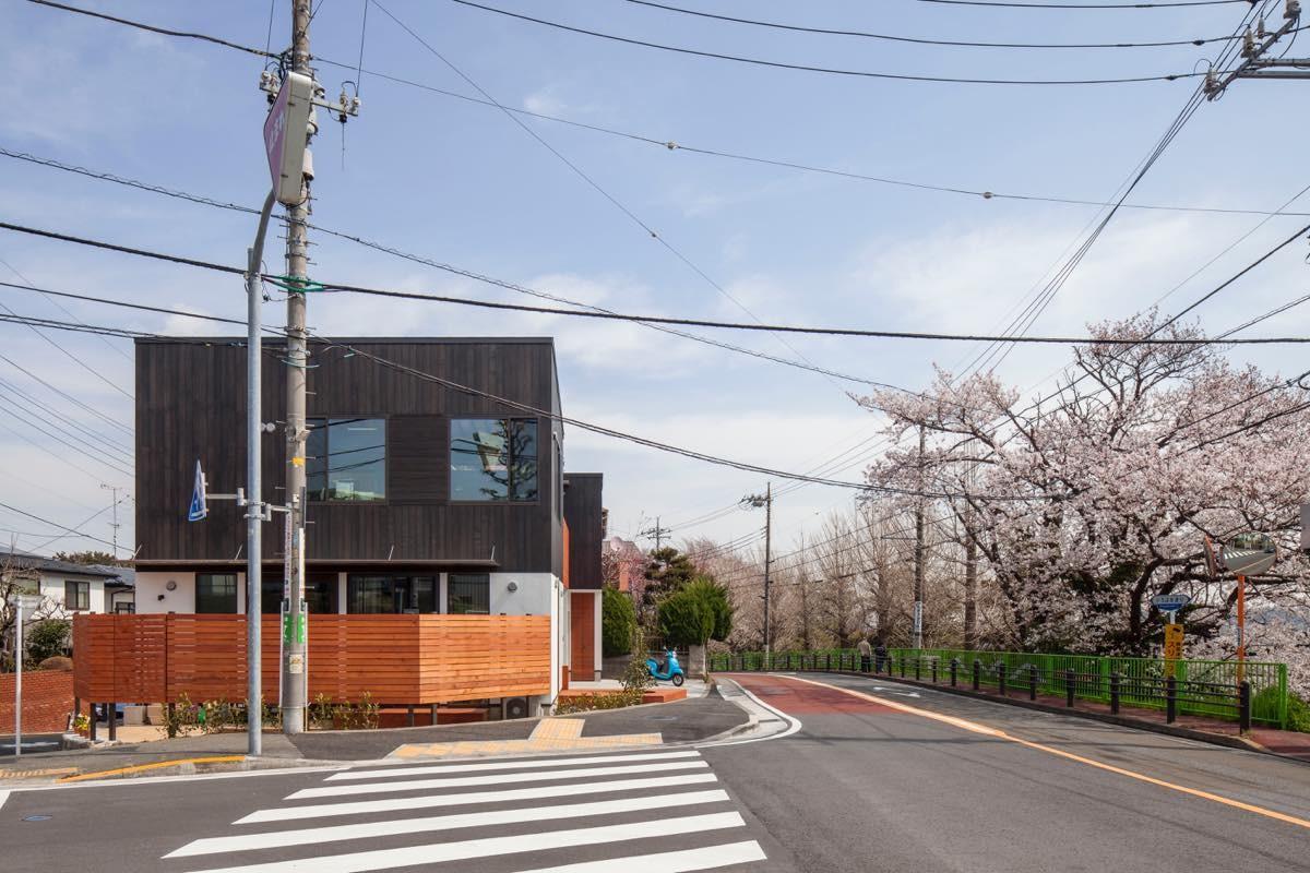 外観事例:外観6(聖蹟桜ヶ丘の家)
