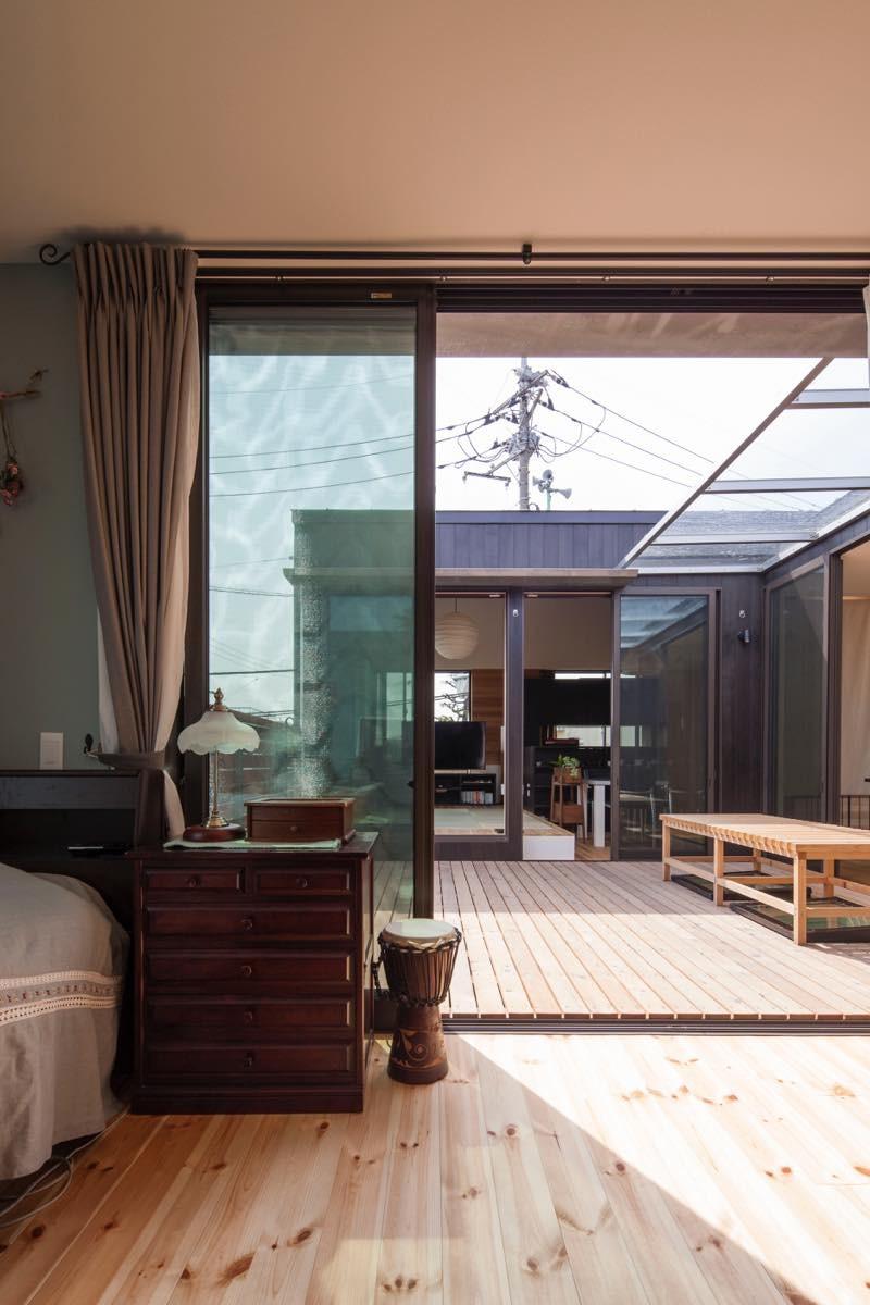 ベッドルーム事例:内観22(聖蹟桜ヶ丘の家)