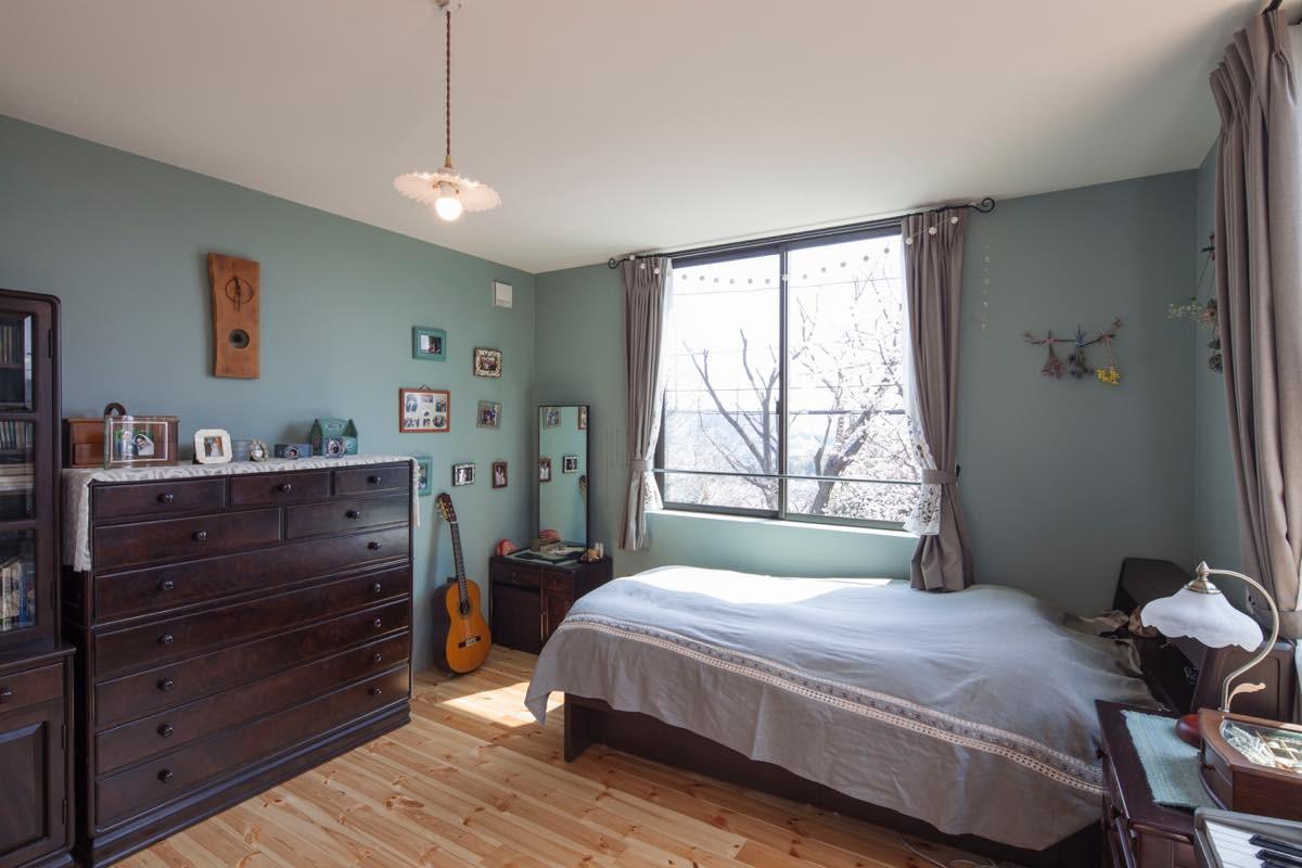 ベッドルーム事例:内観23(聖蹟桜ヶ丘の家)
