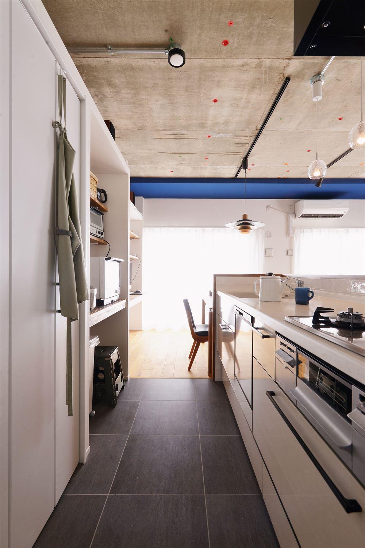 キッチン事例:キッチン(S様邸_自分たちらしい暮らし~Mia cara casa~)