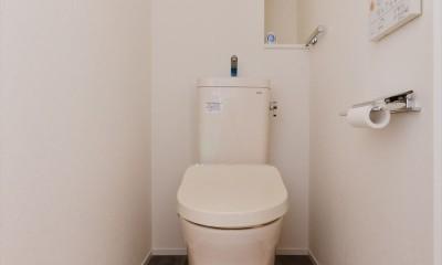 トイレ|S様邸_自分たちらしい暮らし~Mia cara casa~