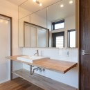 中島・滑津のリノベーションの写真 洗面室