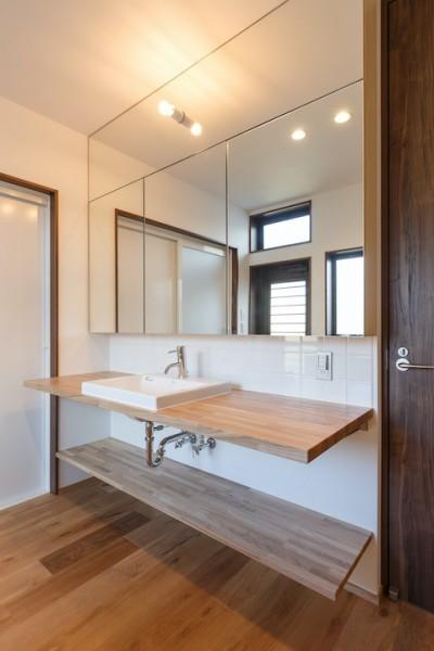 洗面室 (中島・滑津のリノベーション)