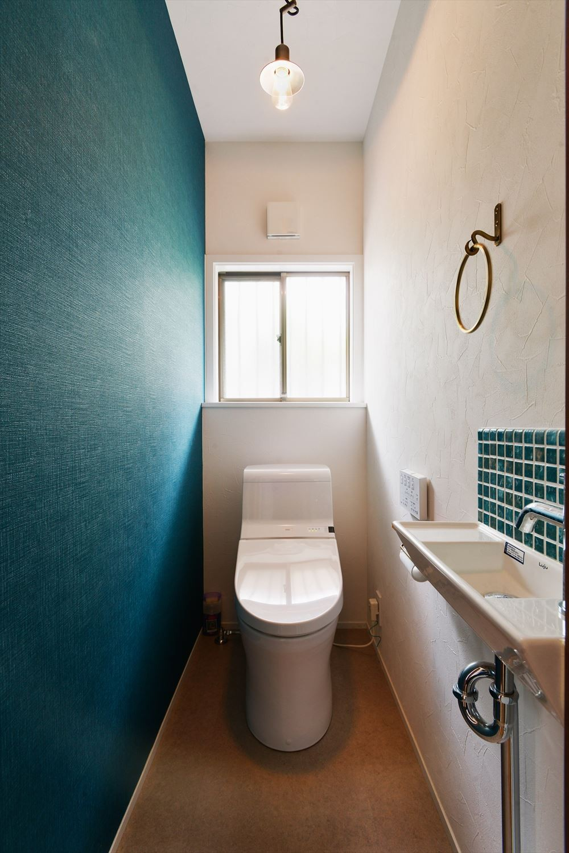 バス/トイレ事例:トイレ(T様邸_ずっとこの街で、この家で)
