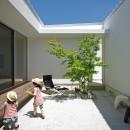 平尾の家-hiraoの写真 中庭