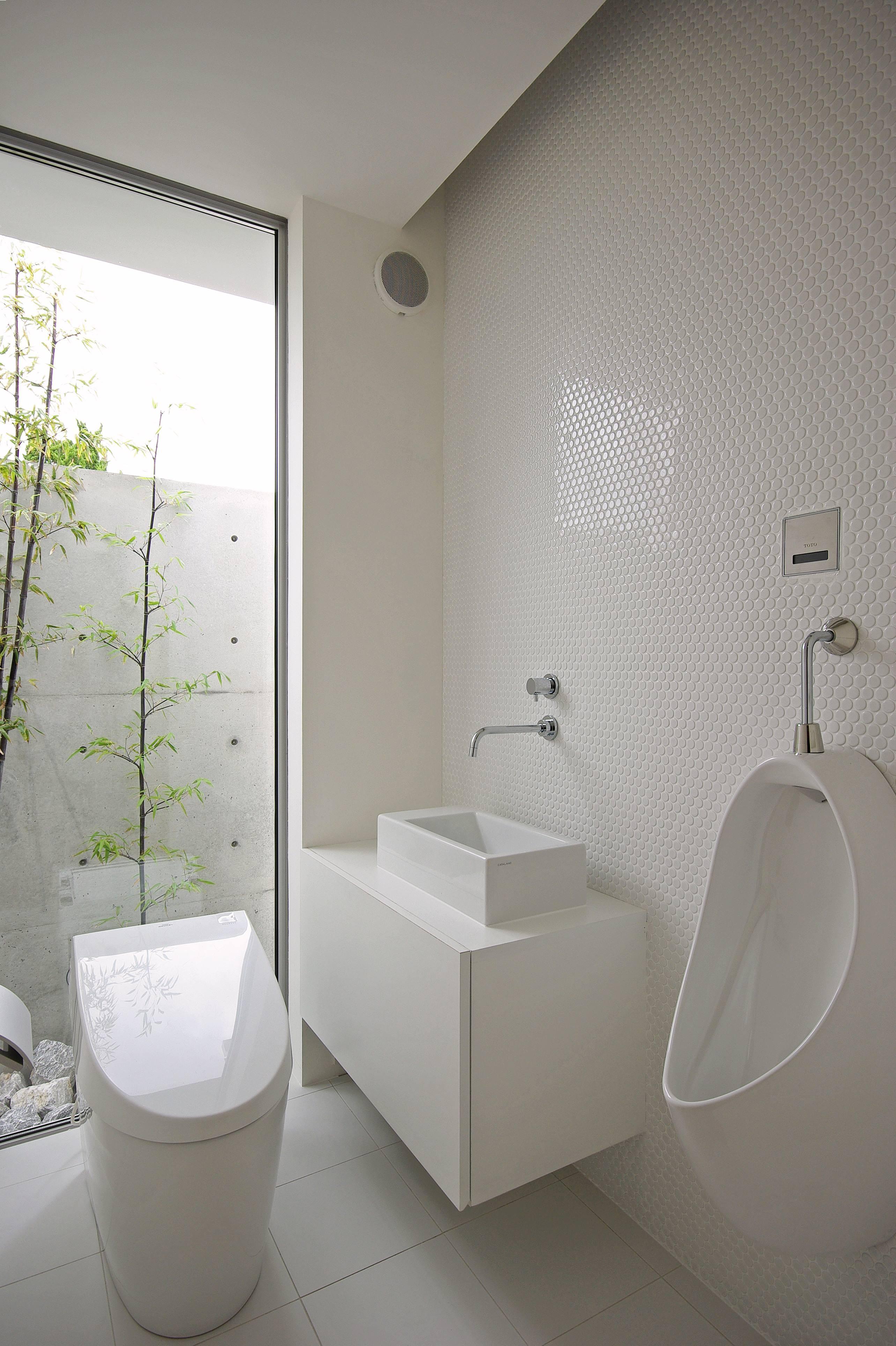 バス/トイレ事例:トイレ(平尾の家-hirao)