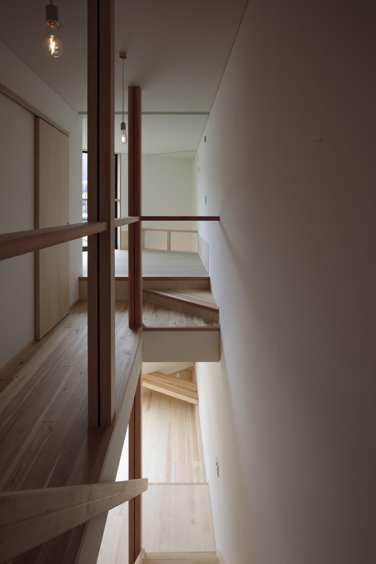 その他事例:階段(交野市の家)