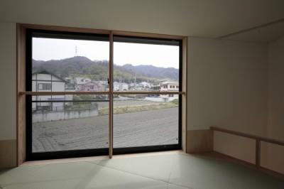 2階 畳スペース (交野市の家)
