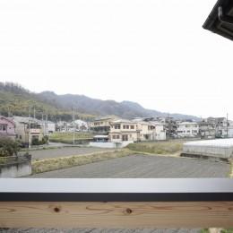 交野市の家 (バルコニーからの眺め)