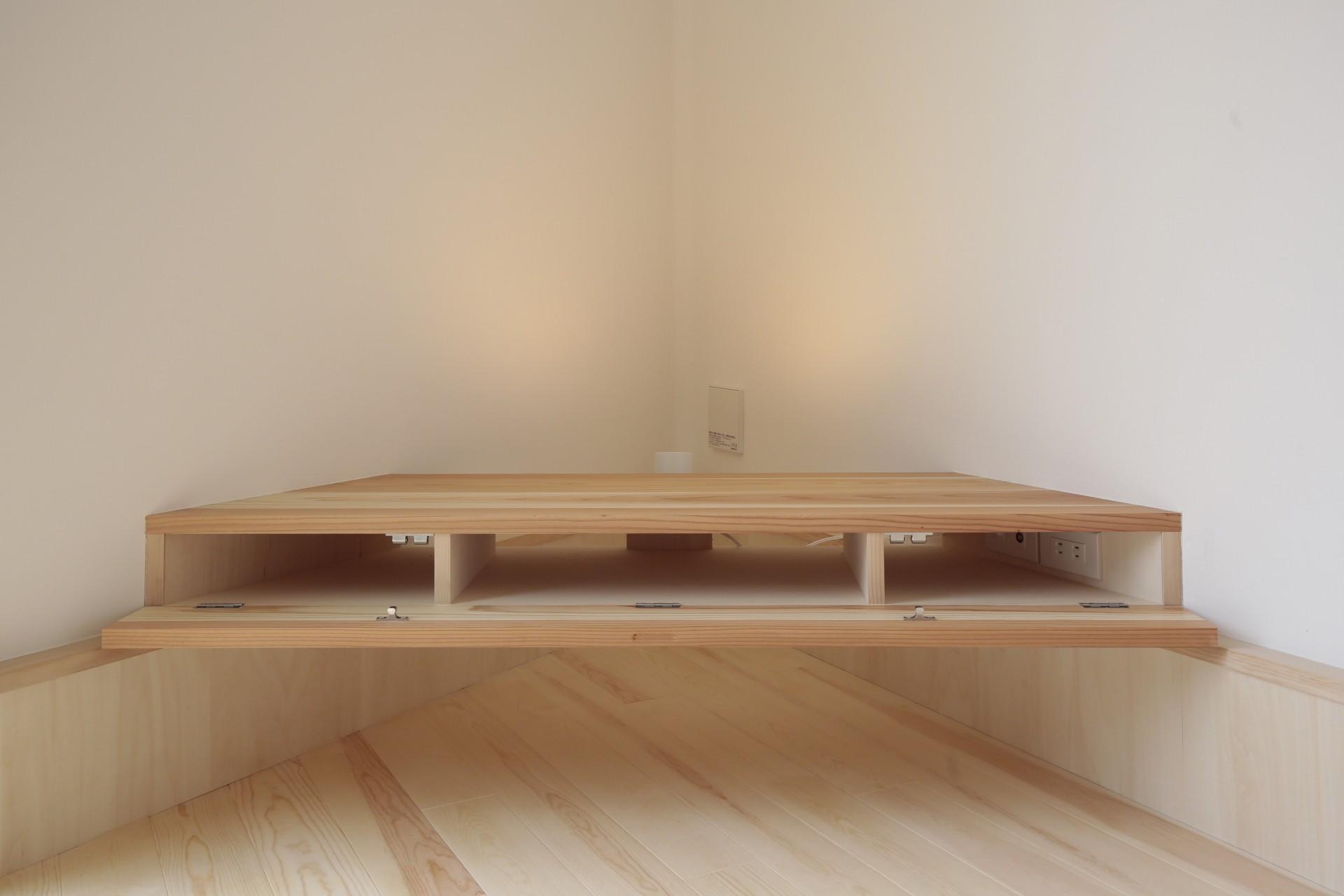 その他事例:造作家具(交野市の家)