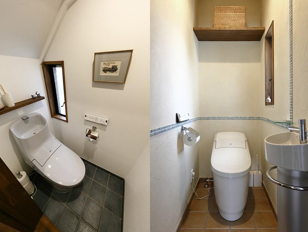 バス/トイレ事例:シンプルで飽きのこないデザイン(桜を眺める家 心地よい暮らしを目指して)