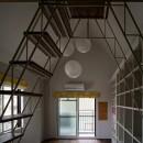 ロフトへのトラス階段をつくる計画の写真 ロフト階段