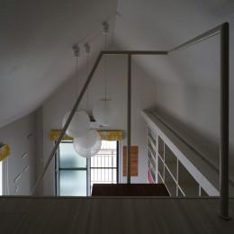 ロフトへのトラス階段をつくる計画 (ロフト階段)