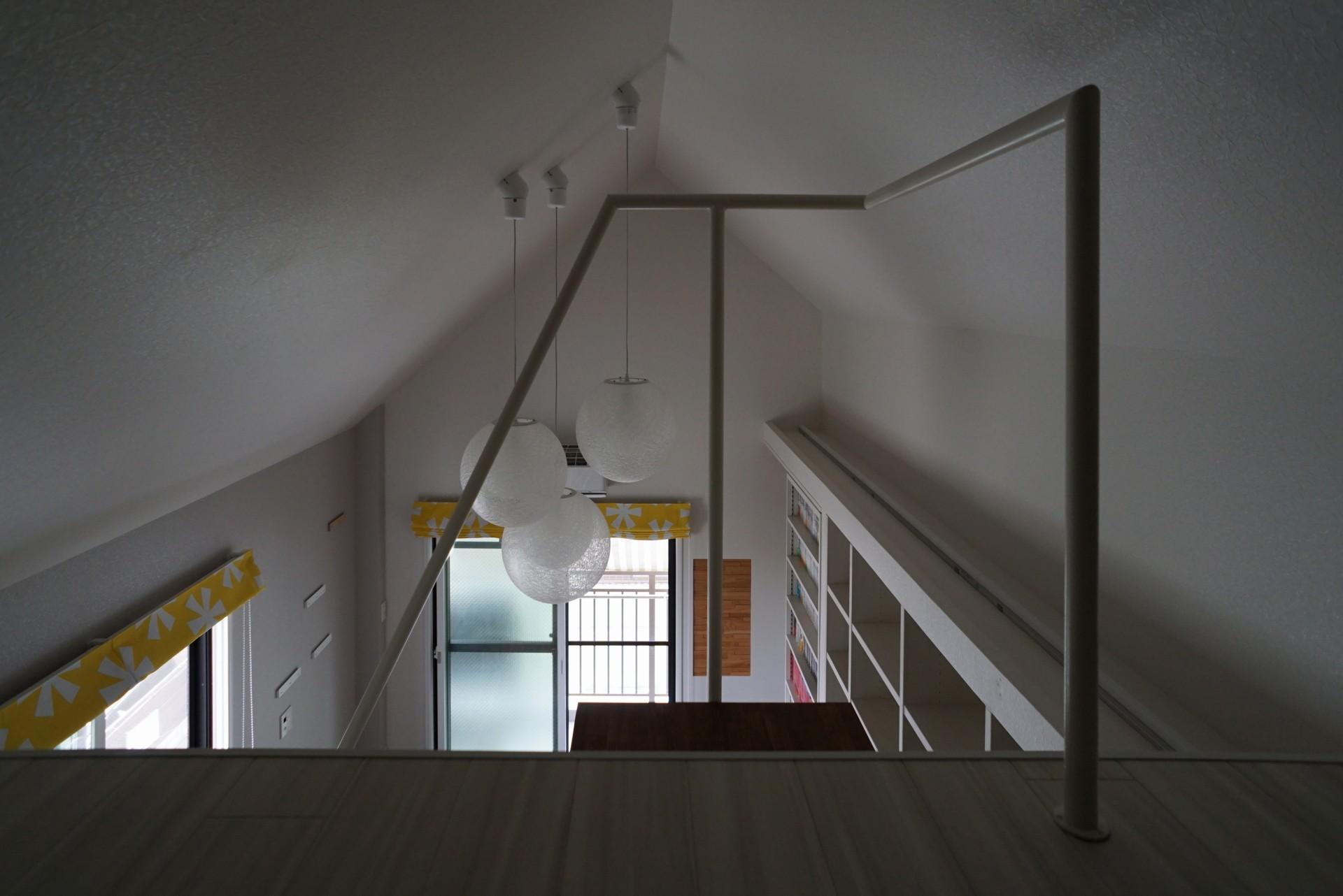 その他事例:ロフト階段(ロフトへのトラス階段をつくる計画)