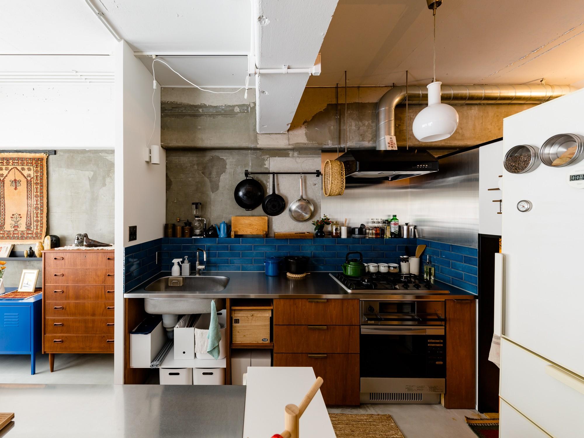 キッチン事例:キッチン(とことん、味わい深く。)