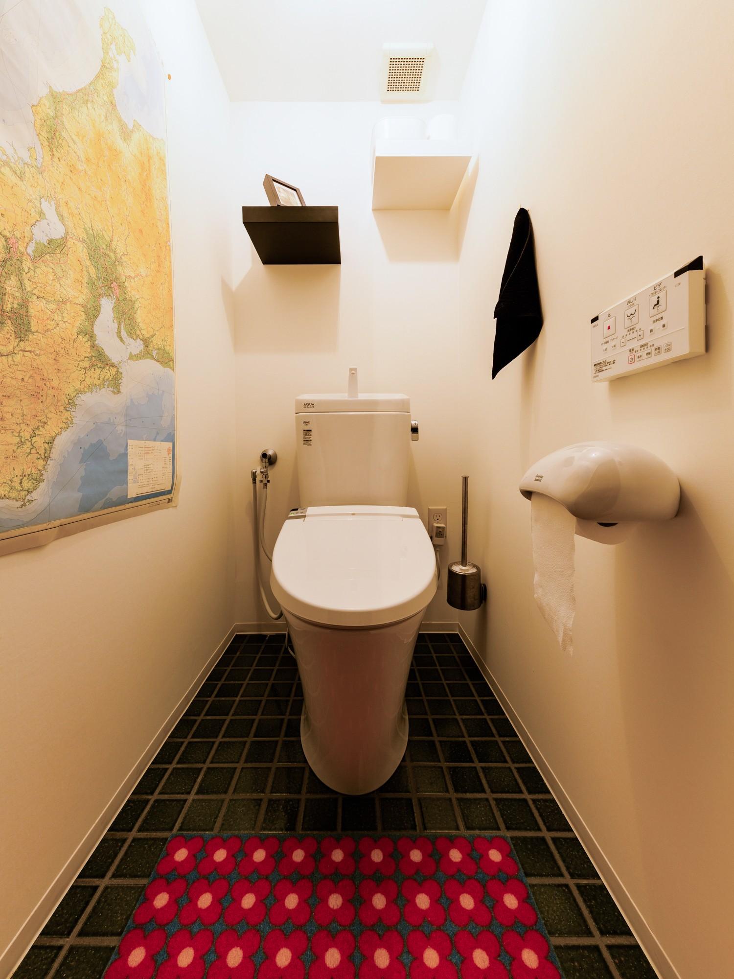 バス/トイレ事例:トイレ(とことん、味わい深く。)