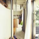 室内干しできるインナーテラスのある住まいの写真 安心の室内干し