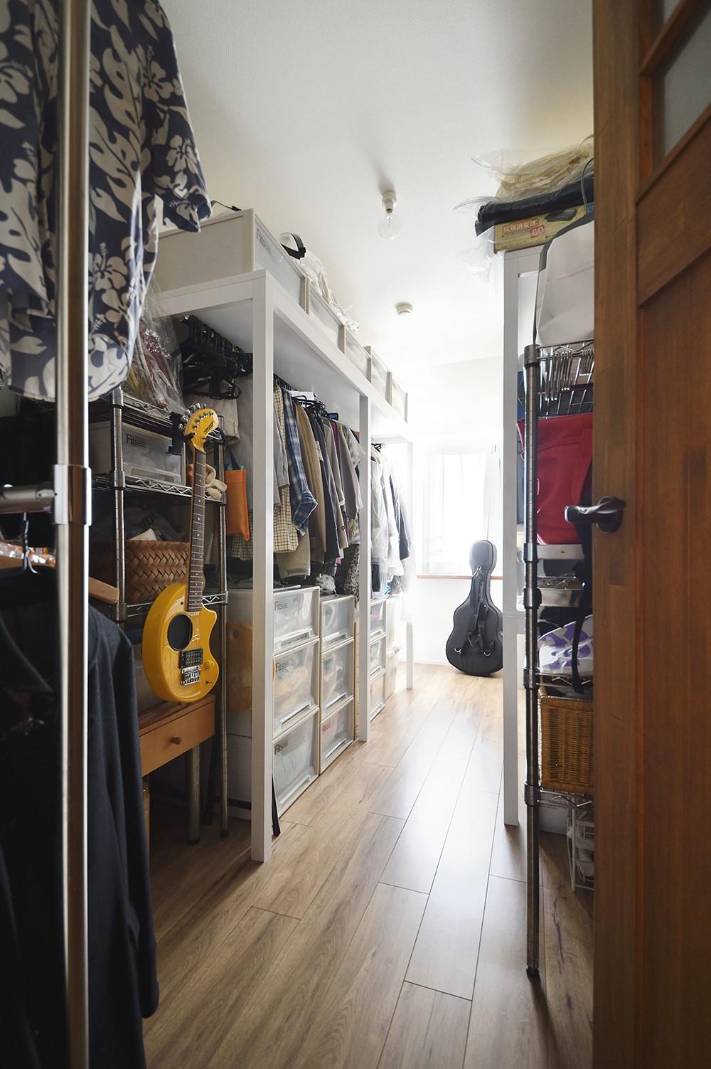 収納事例:たっぷり収納できる納戸スペース(室内干しできるインナーテラスのある住まい)